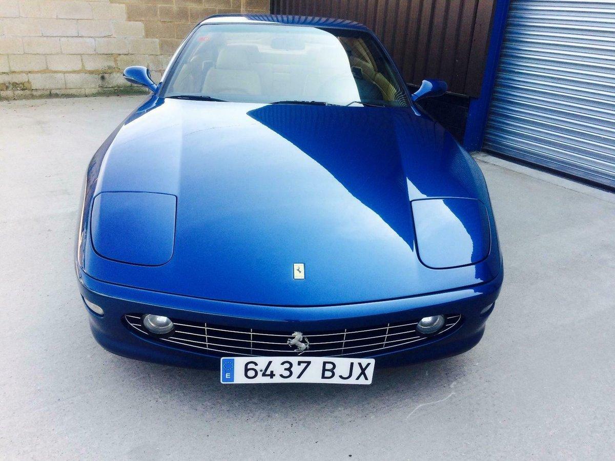 1999 FERRARI 456 456M GTA 33,000 MILES HISTORY LHD EU CAR For Sale (picture 2 of 6)