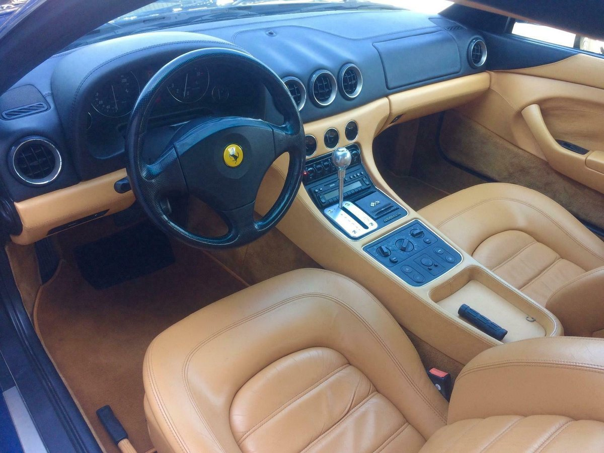 1999 FERRARI 456 456M GTA 33,000 MILES HISTORY LHD EU CAR For Sale (picture 5 of 6)