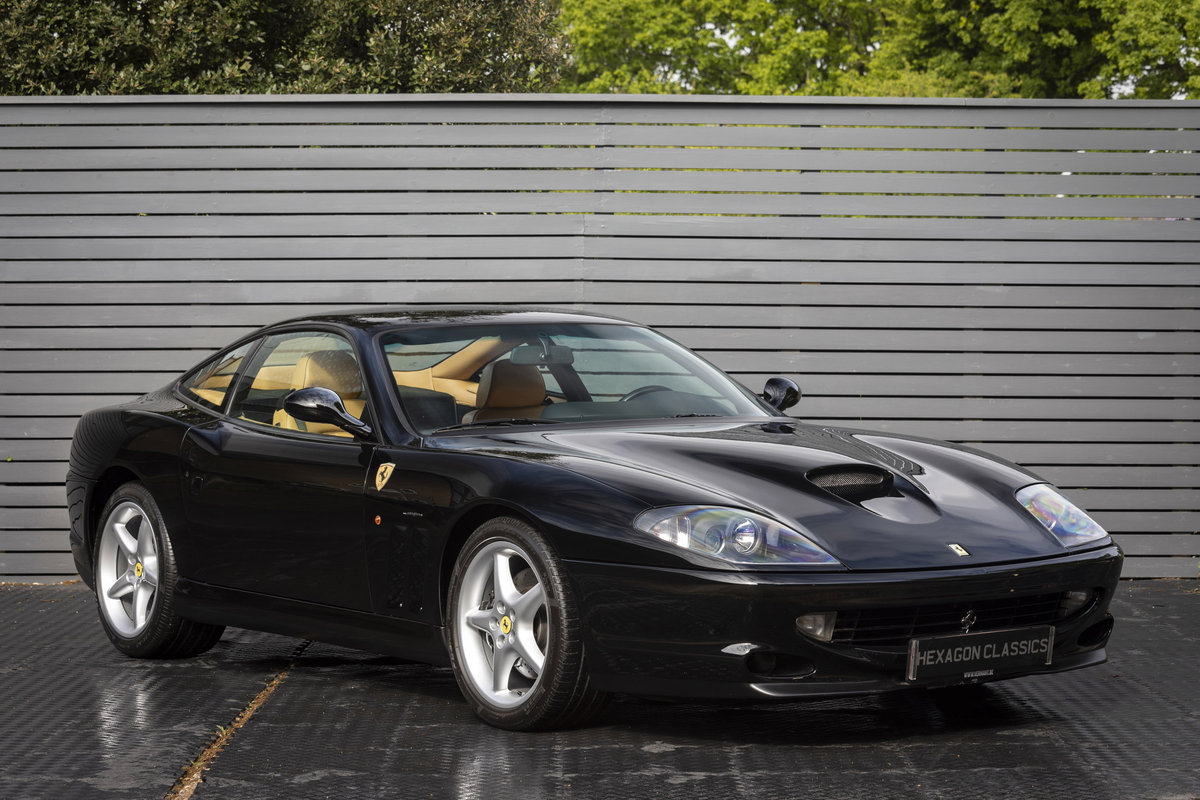 1997 Ferrari 550 Maranello LHD SOLD (picture 1 of 6)