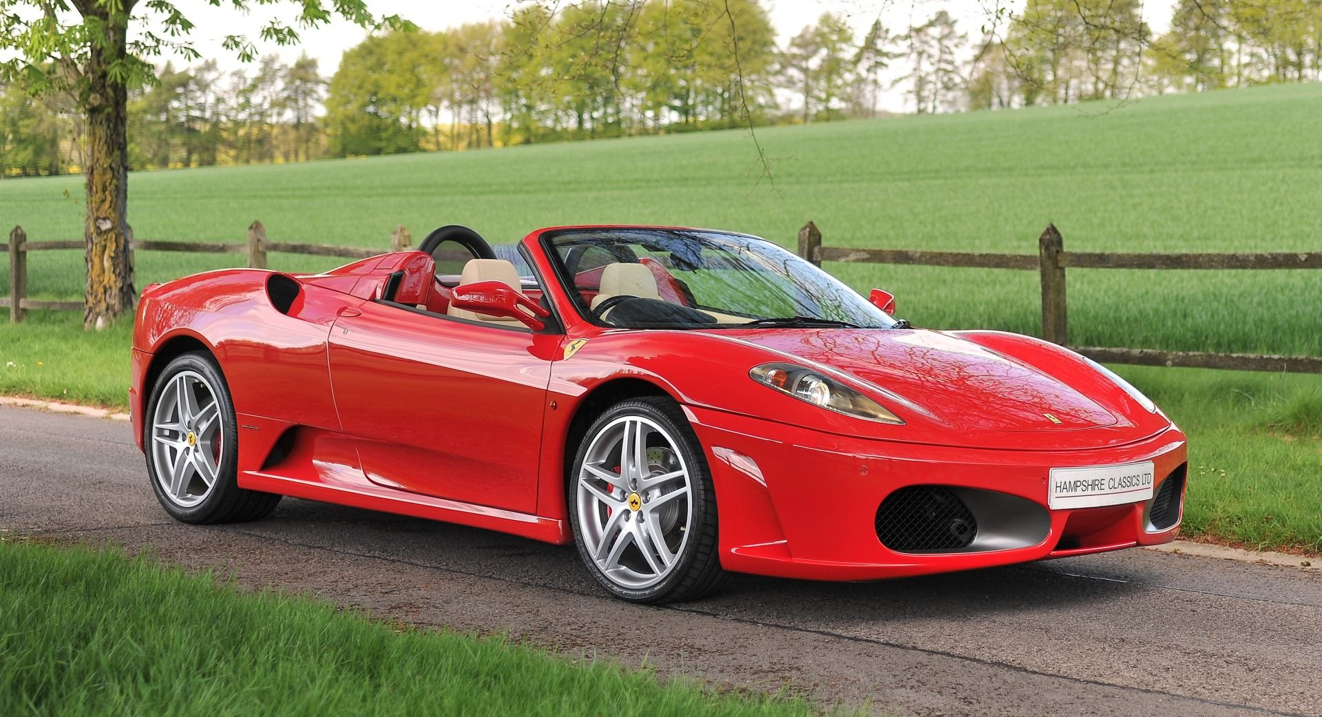 2007 Ferrari F430 Spider Manual with Only 17,412 Miles For Sale (picture 1 of 6)