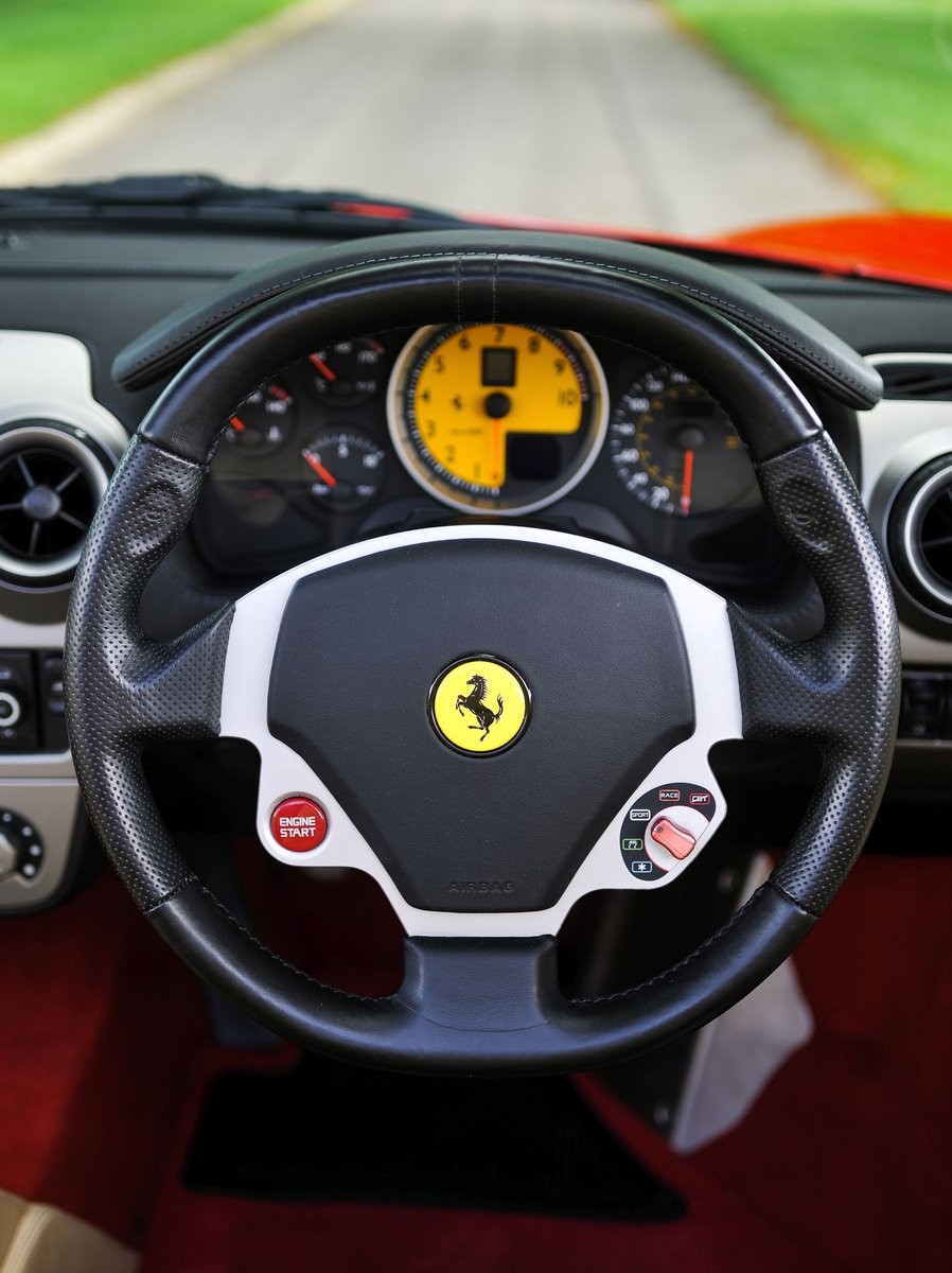 2007 Ferrari F430 Spider Manual with Only 17,412 Miles For Sale (picture 4 of 6)