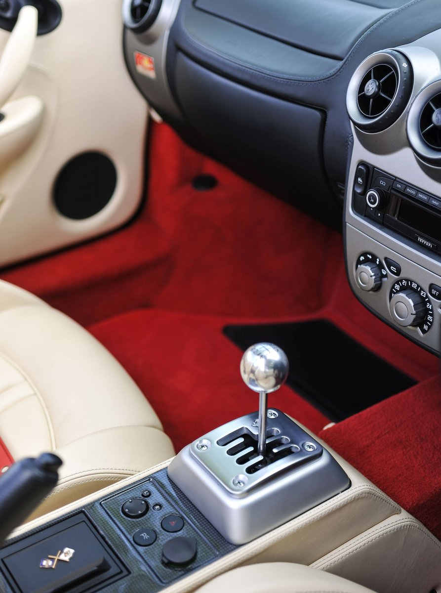 2007 Ferrari F430 Spider Manual with Only 17,412 Miles For Sale (picture 5 of 6)