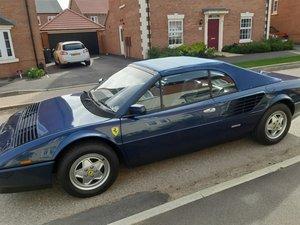 1987 Ferrari Mondial 3.2 Cabriolet For Sale by Auction