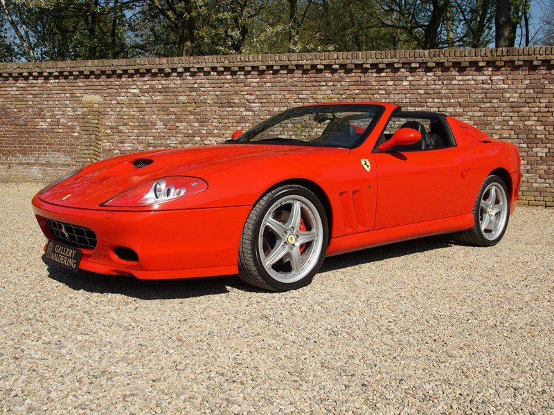 2006 Ferrari 575 Superamerica 2 owners, fully documented from new For Sale (picture 1 of 6)