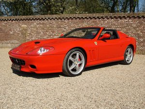 2006 Ferrari 575 Superamerica 2 owners, fully documented from new For Sale