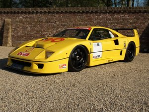 1993 Ferrari F40 LM Spec race car full known/famous race history