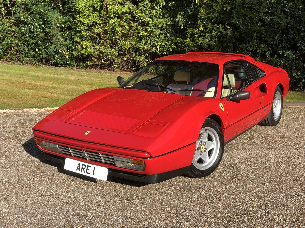1987 FERRARI 328 GTB  Uk RHD example just serviced For Sale (picture 1 of 6)