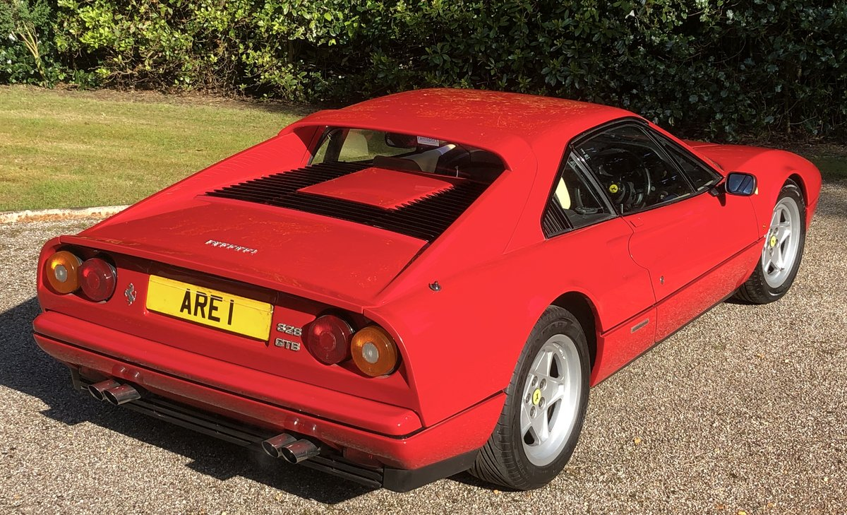 1987 FERRARI 328 GTB  Uk RHD example just serviced For Sale (picture 3 of 6)