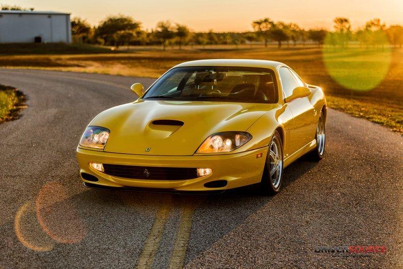 1997 Ferrari 550 Maranello = 6 speed Manual 9.8k miles $192. For Sale (picture 1 of 6)