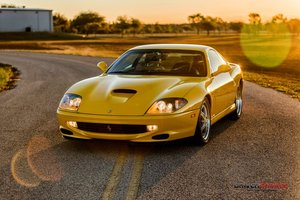 1997 Ferrari 550 Maranello = 6 speed Manual 9.8k miles $192. For Sale