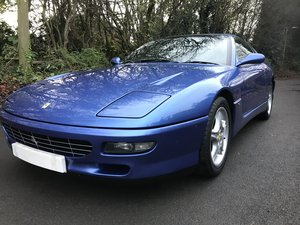 1994 rare azzurro metallic(blue)manual 456 gt