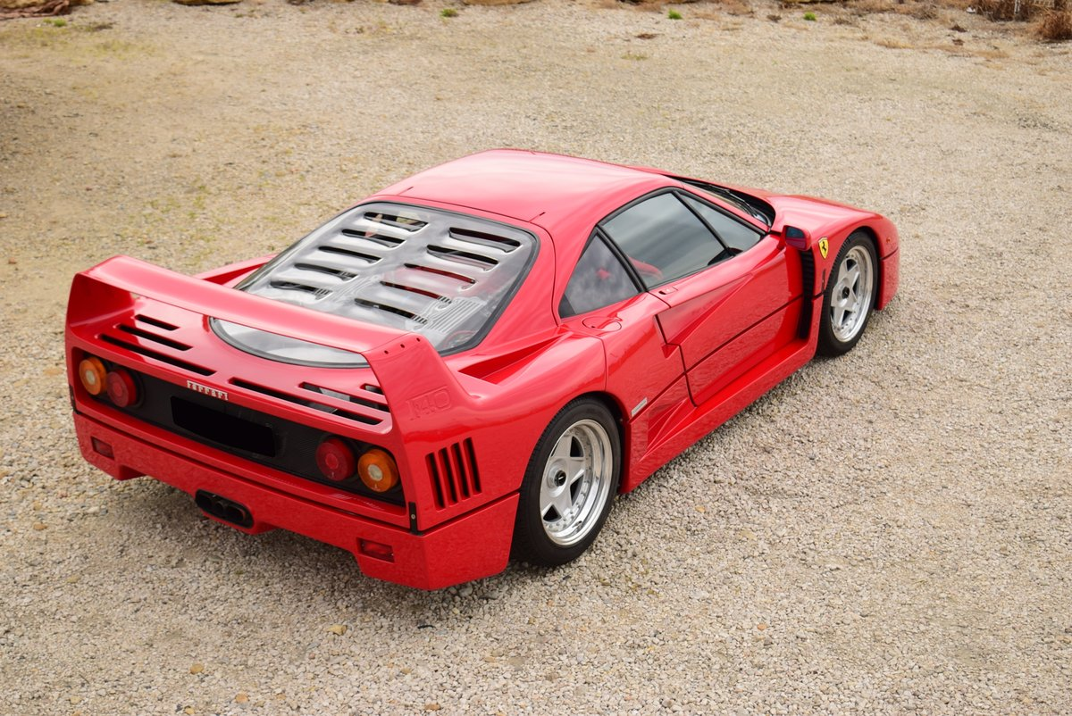1991 Ferrari F40 For Sale by Auction (picture 3 of 5)