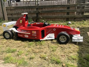 Ferrari f1 petrol child's car totrod