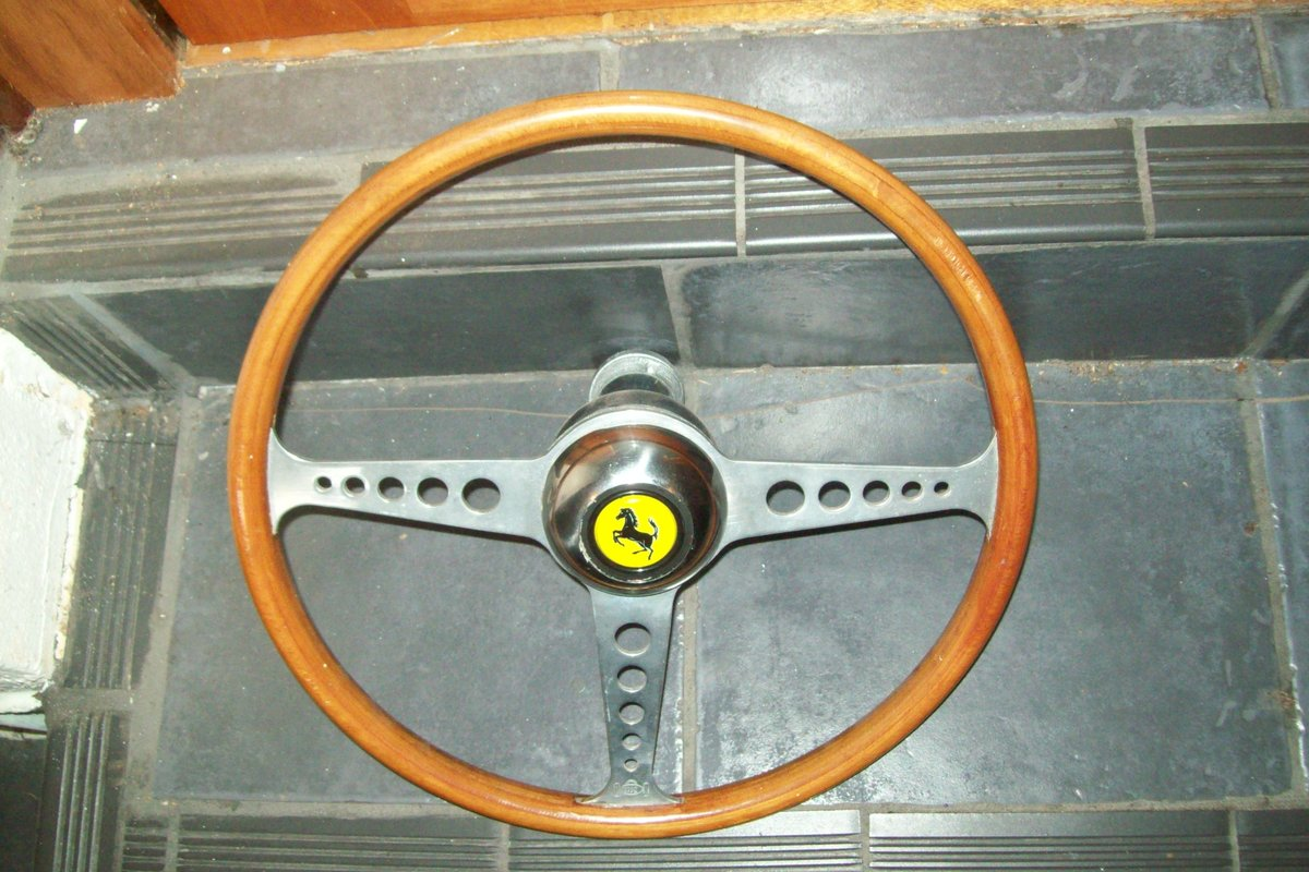 1946 FERRARI HORN BUTTON COFFEE STAMPER For Sale (picture 1 of 6)