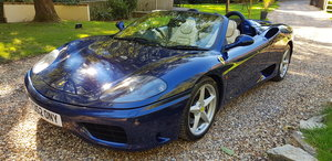 2001 Beautiful Low Miles 360 Spider F1