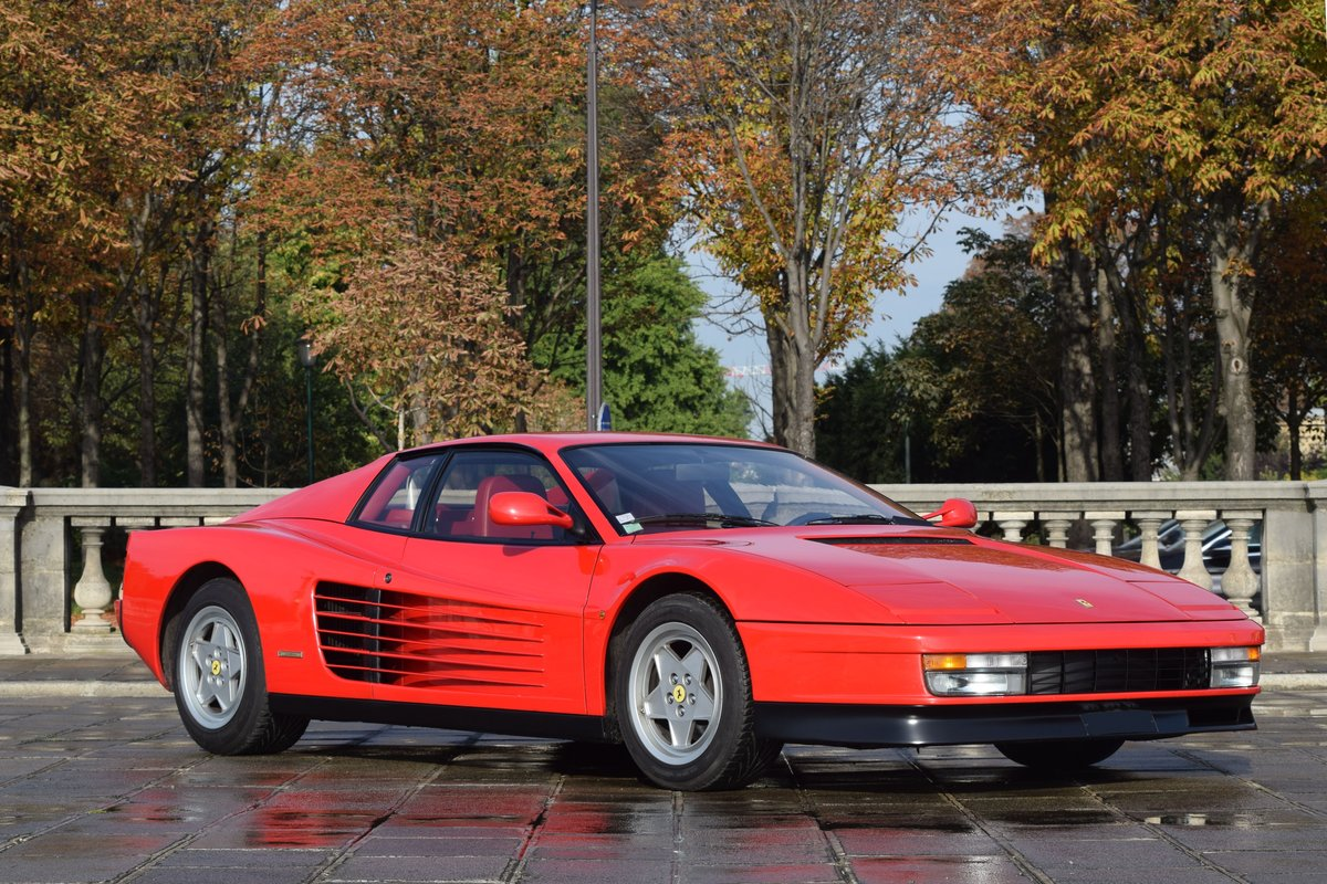 1988 Ferrari Testarossa For Sale by Auction (picture 1 of 6)