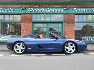 1998 Ferrari 355 Spider Manual For Sale