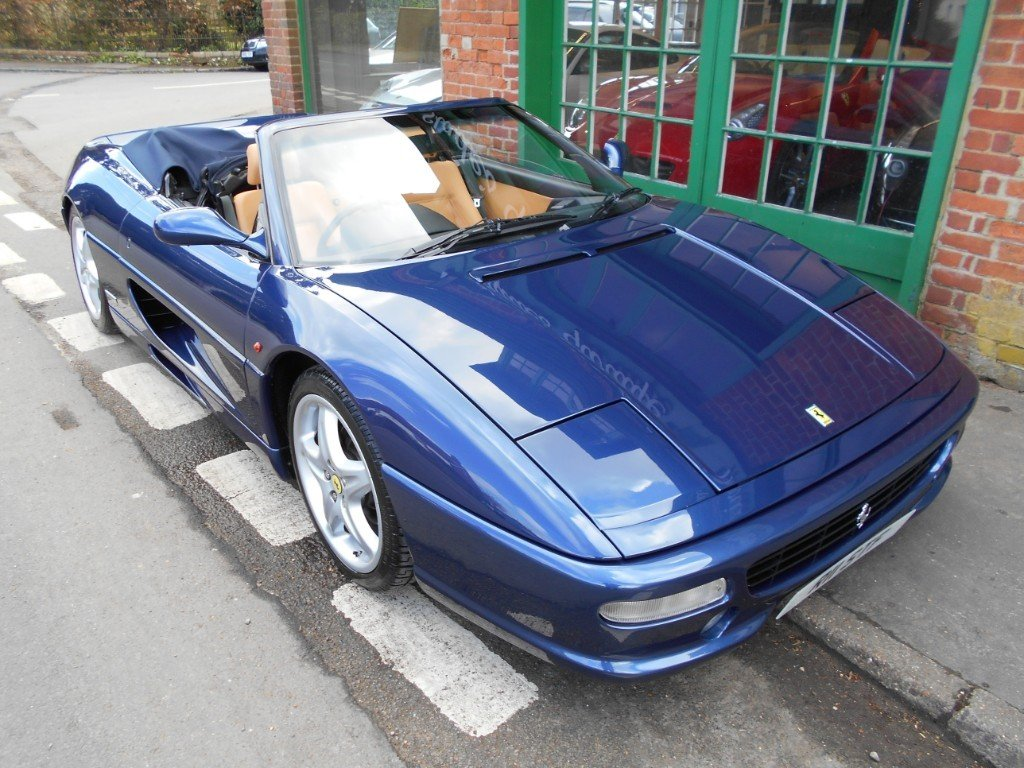 1998 Ferrari 355 Spider Manual For Sale (picture 2 of 4)