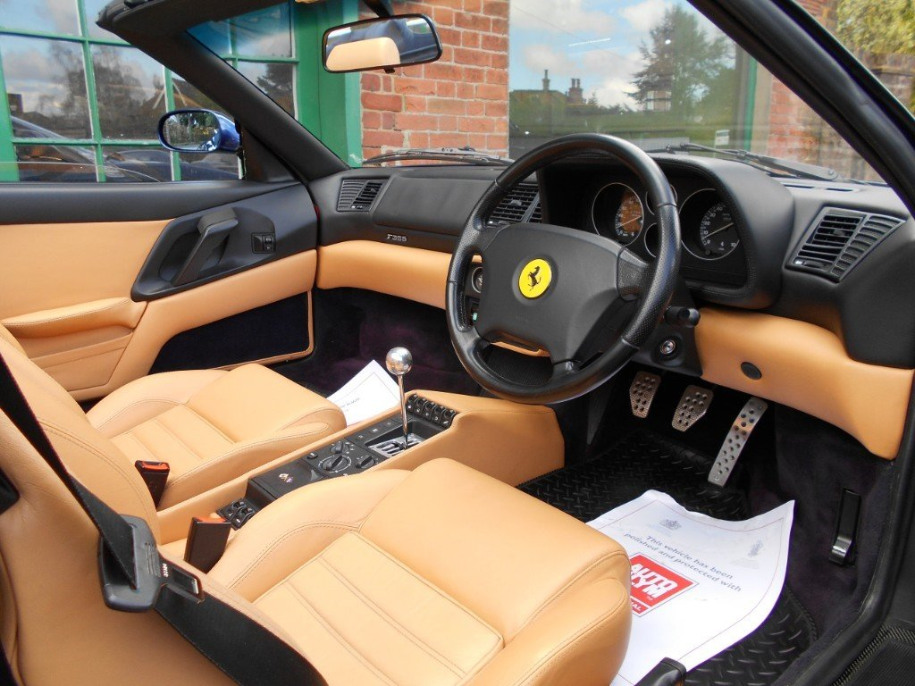 1998 Ferrari 355 Spider Manual For Sale (picture 4 of 4)