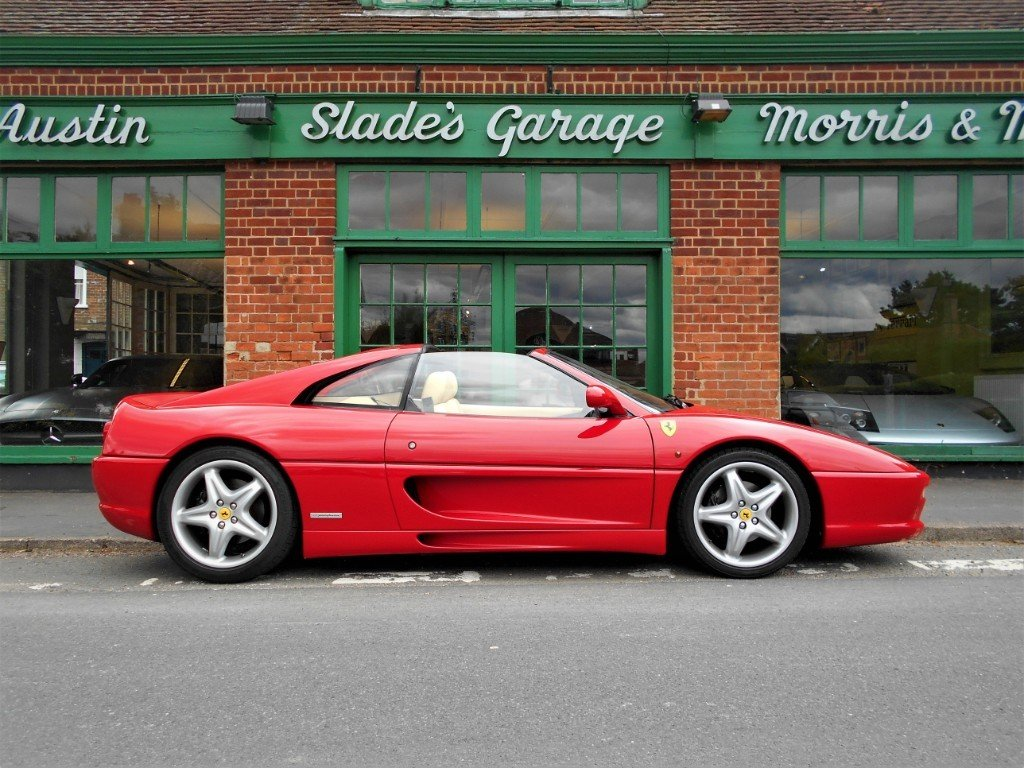 1997 Ferrari 355 GTS Coupe Manual  For Sale (picture 1 of 4)