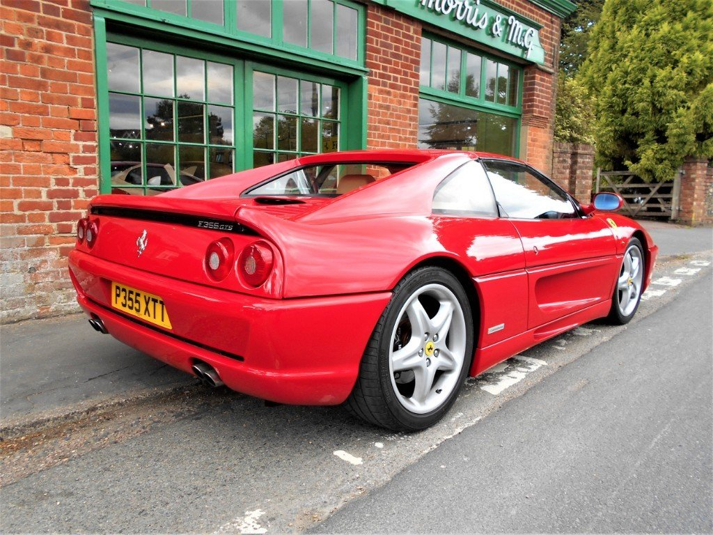 1997 Ferrari 355 GTS Coupe Manual  For Sale (picture 3 of 4)