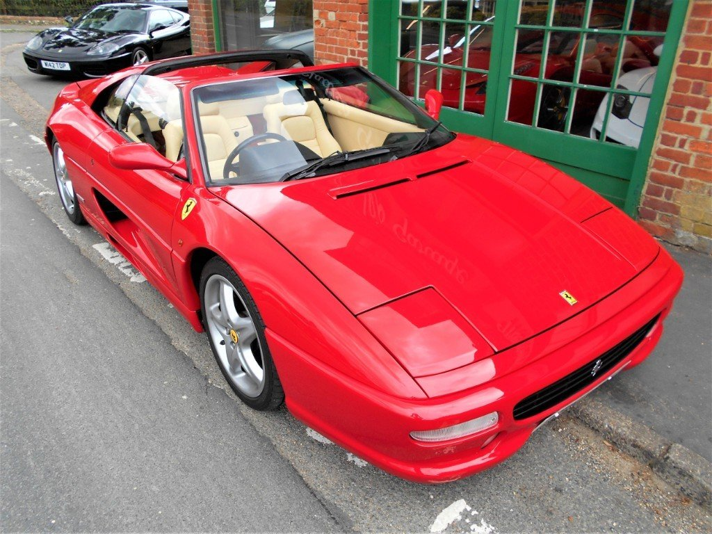 1997 Ferrari 355 GTS Coupe Manual  For Sale (picture 4 of 4)