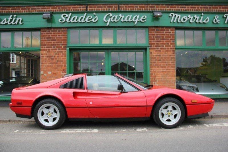 1987 Ferrari 328 GTS Manual  For Sale (picture 1 of 5)