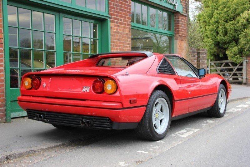 1987 Ferrari 328 GTS Manual  For Sale (picture 2 of 5)