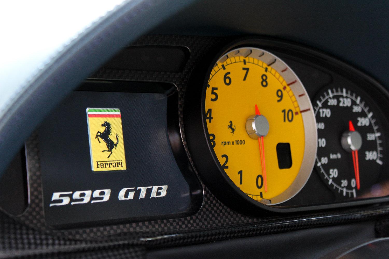 2007 BLU MIRABEAU FERRARI 599 GTB FIORANO F1 - 9,491 MILES & FFSH SOLD (picture 4 of 6)