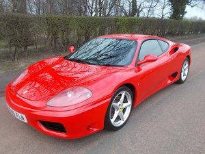 2000 Ferrari 360 Modena at Morris Leslie Auction 25th May For Sale by Auction
