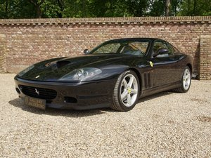 2002 Ferrari 575M Maranello manual gearbox, one of only 177 made,