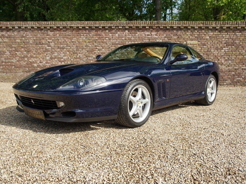 1998 Ferrari 550 Maranello only 3 owners, only 54.256 km, Dutch d For Sale (picture 1 of 6)