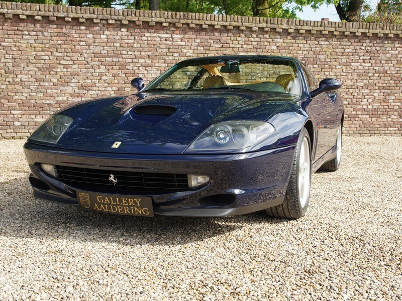 1998 Ferrari 550 Maranello only 3 owners, only 54.256 km, Dutch d For Sale (picture 5 of 6)