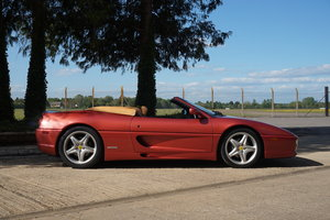 1999 Ferrari F355 Spider F1, low mileage and unique spec! For Sale