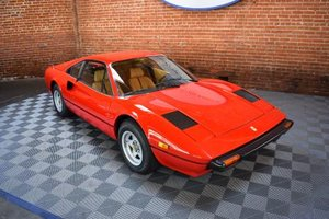 1979 Ferrari 308 GTB = Red(~)Tan low 15.6k miles $69.5k
