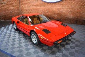 1979 Ferrari 308 GTB = Red(~)Tan low 15.6k miles $69.5k For Sale