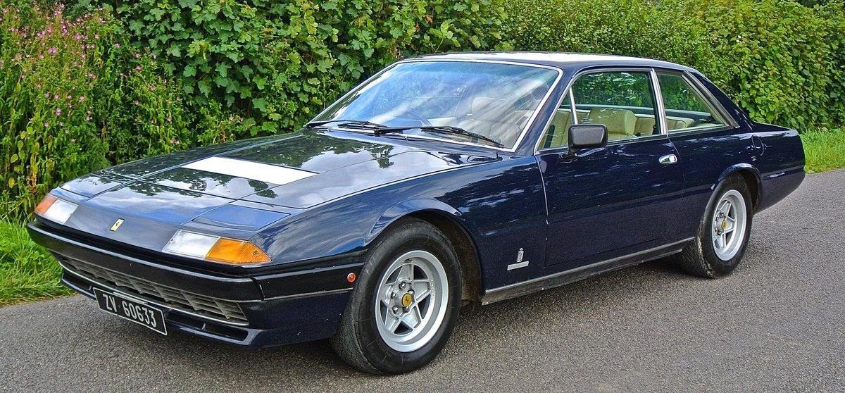 1982 FERRARI 400i GTA          V12 classic Ferrari For Sale (picture 1 of 6)