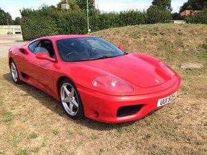 2000 Pristine   Ferrari 360 Modena For Sale