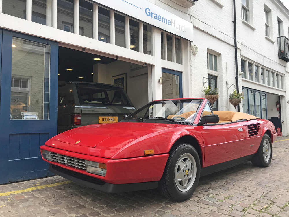 1986 Ferrari Mondial 3.2 Cobriolet For Sale (picture 1 of 6)