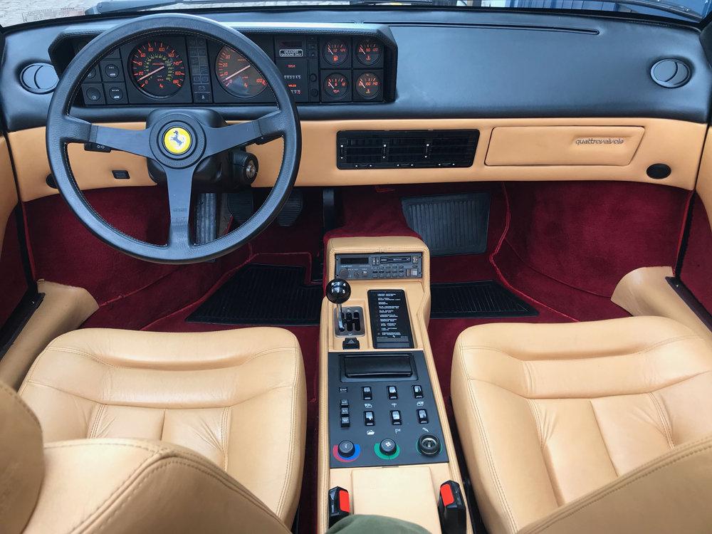 1986 Ferrari Mondial 3.2 Cobriolet For Sale (picture 4 of 6)