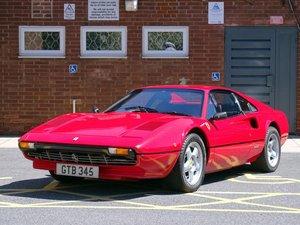 1981 Ferrari 308 GTBi For Sale by Auction