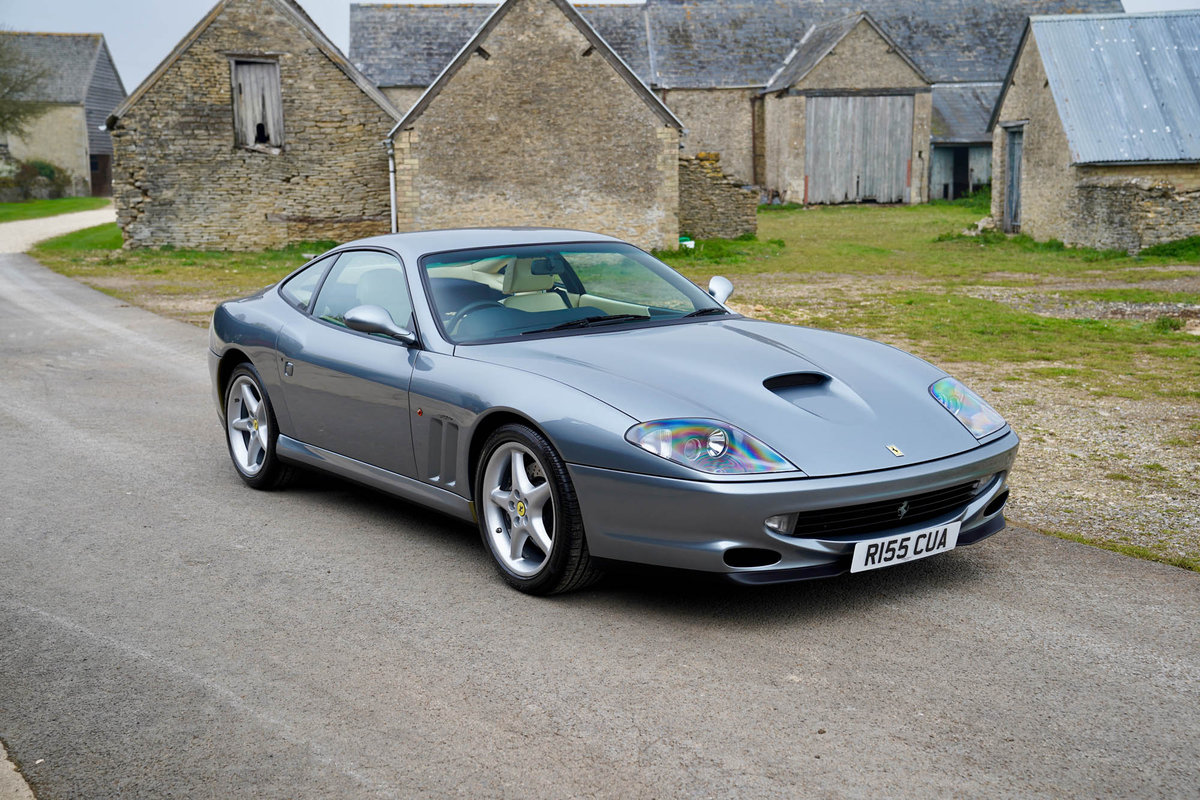 1997 Ferrari 550 Maranello Manual SOLD (picture 1 of 6)
