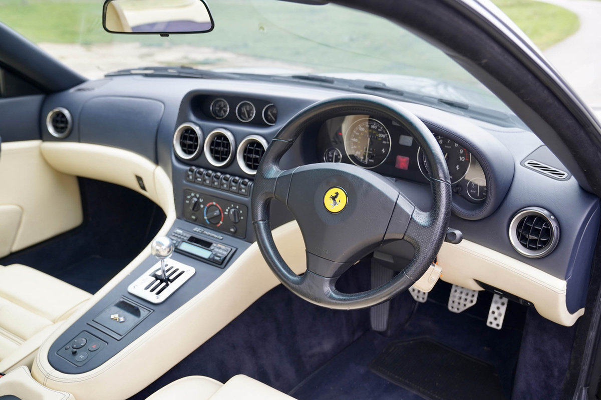1997 Ferrari 550 Maranello Manual SOLD (picture 4 of 6)