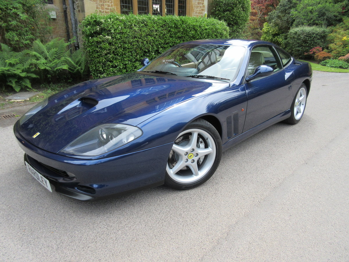 1999 SOLD-Another keenly required Ferrari 550 Maranello For Sale (picture 1 of 6)