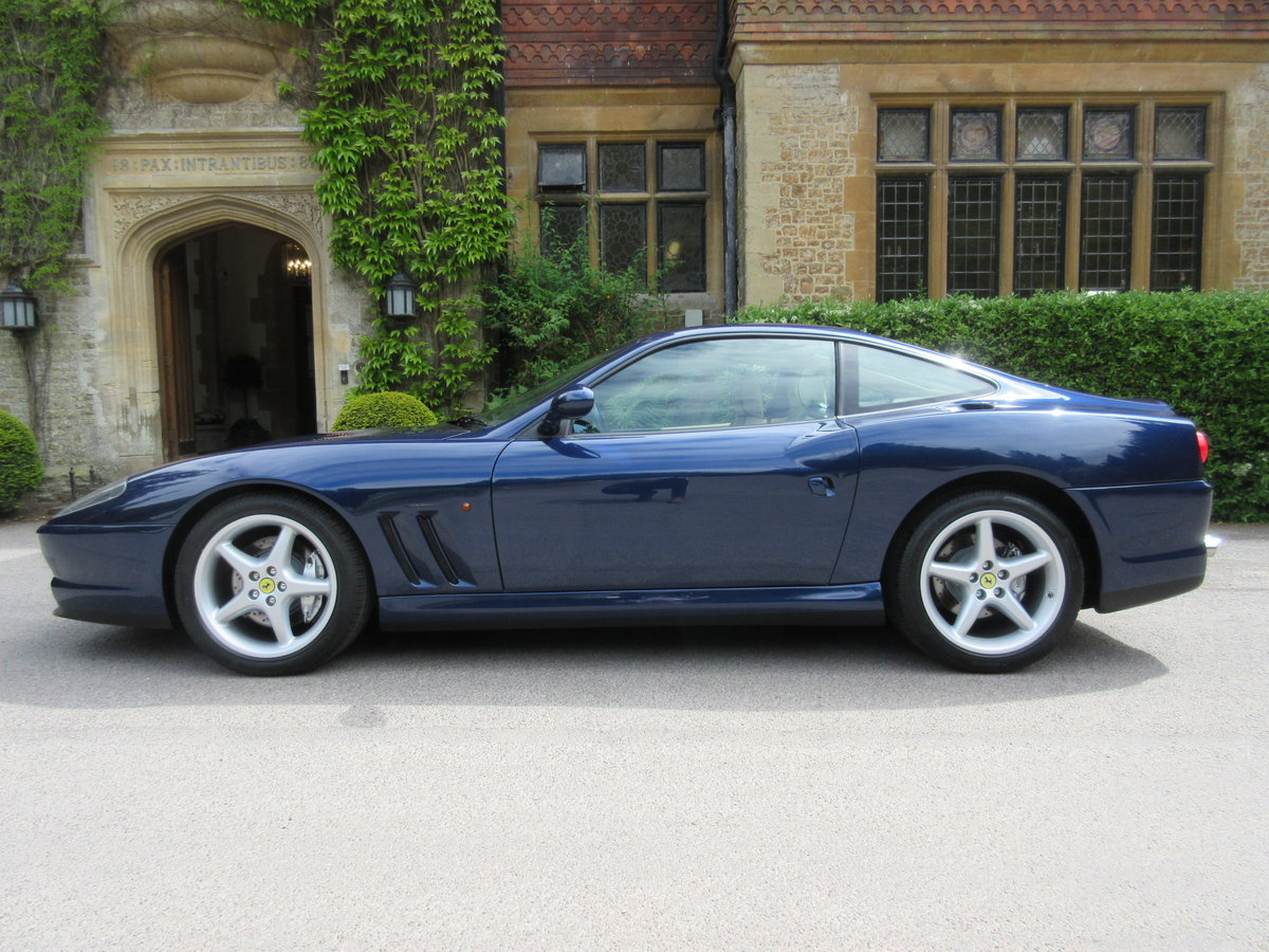 1999 SOLD-Another keenly required Ferrari 550 Maranello For Sale (picture 2 of 6)