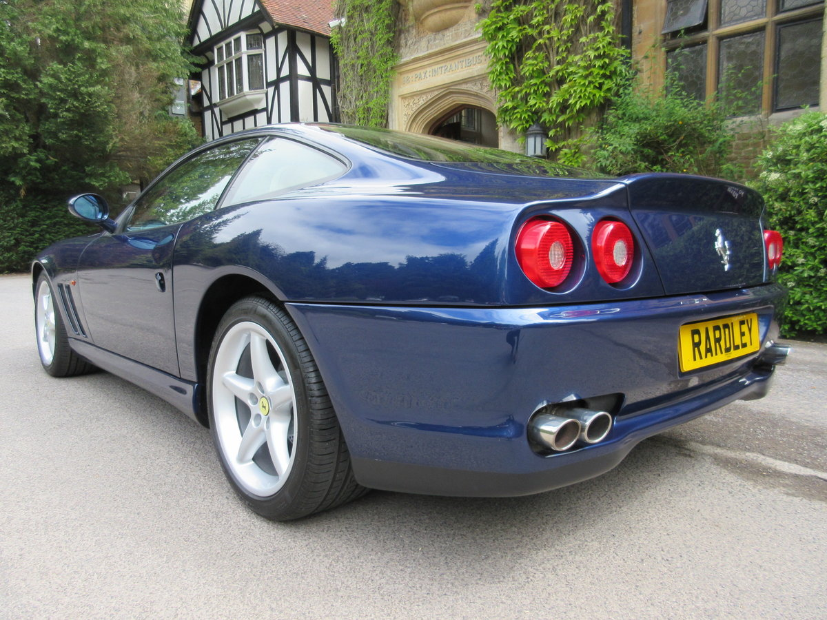 1999 SOLD-Another keenly required Ferrari 550 Maranello For Sale (picture 3 of 6)