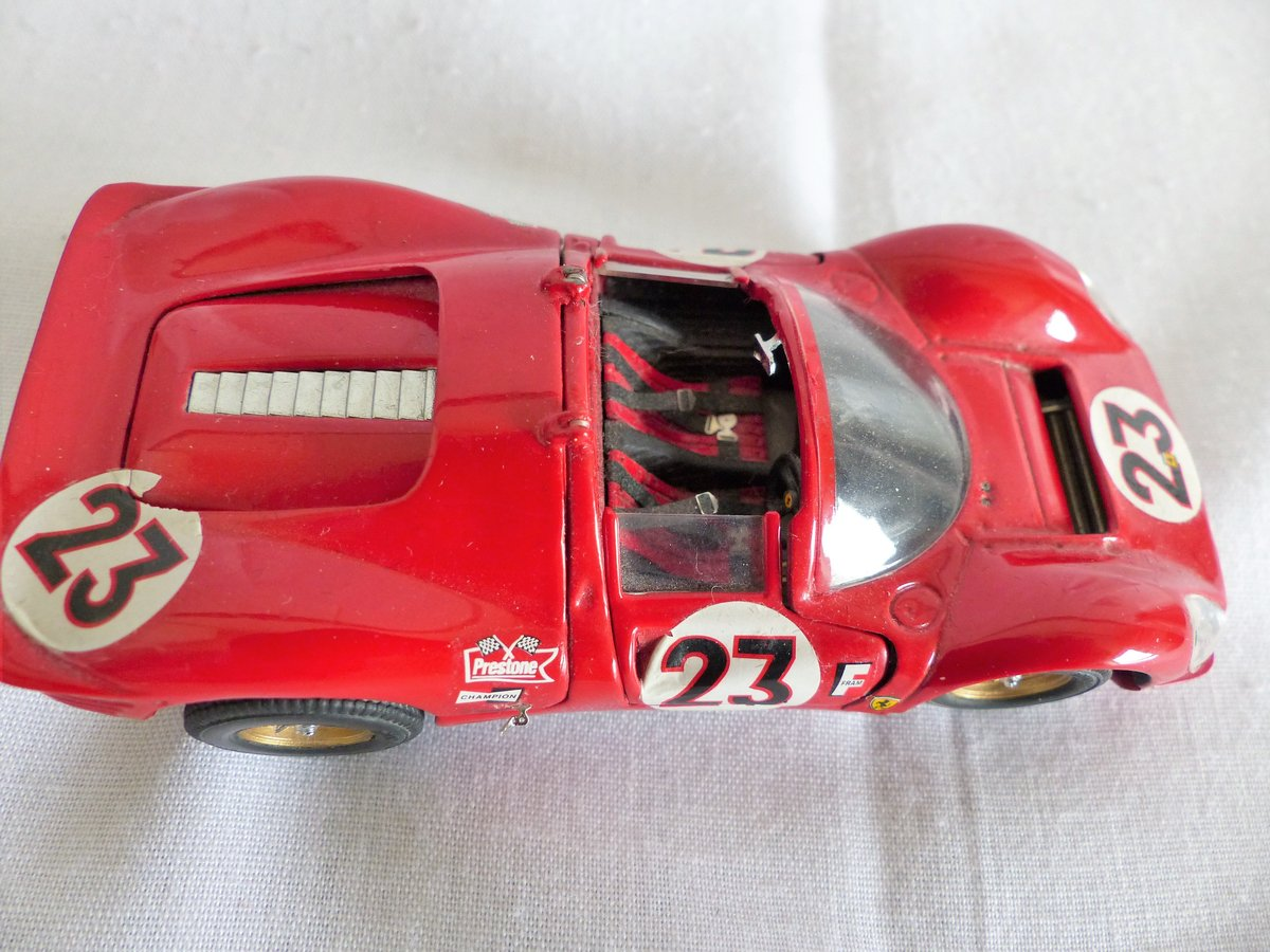 JOUEF EVOLUTION 1967 FERRARI 330 P4 SCALE 1:43 LTD For Sale (picture 4 of 6)