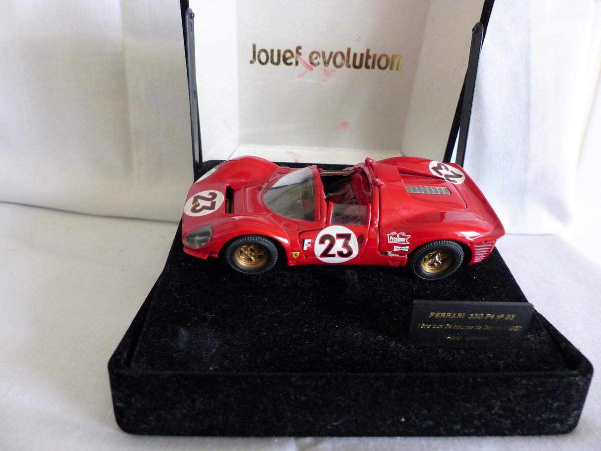 JOUEF EVOLUTION 1967 FERRARI 330 P4 SCALE 1:43 LTD For Sale (picture 6 of 6)