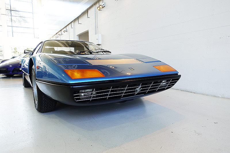 1976 AUS del. 365 GT4 BB, match. numbers, one of 88 RHD cars For Sale (picture 1 of 6)