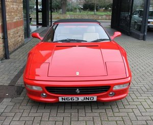 1996 Ferrari 355 Spider - Full Service History For Sale